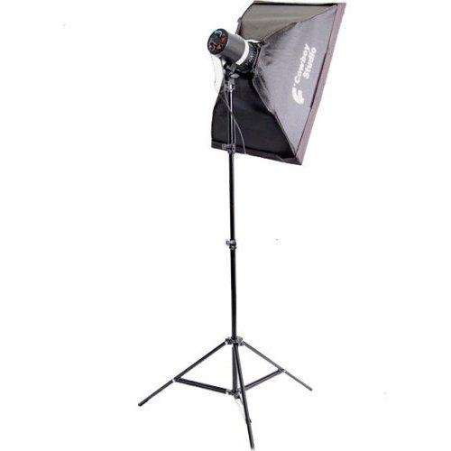 - CowboyStudio Single 110 Watt Photo Studio Monolight Flash Lighting Kit - 1 Studio Flash/Strobe, 1 Softbox