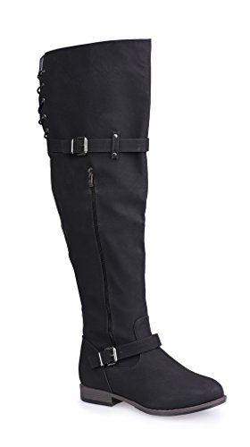 Wide Size Motorcycle Boots - 9