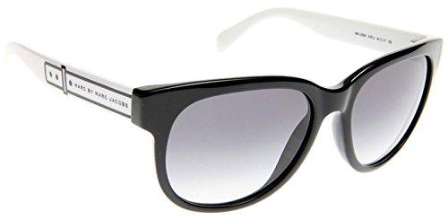 803aedeb1e7e Image Unavailable. Image not available for. Colour: Marc Jacobs Sunglasses  MMJ 325 /S OVFJJ Acetate plastic Black - White ...