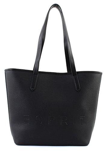 Esprit Shopper Bolso totes 30 cm Negro
