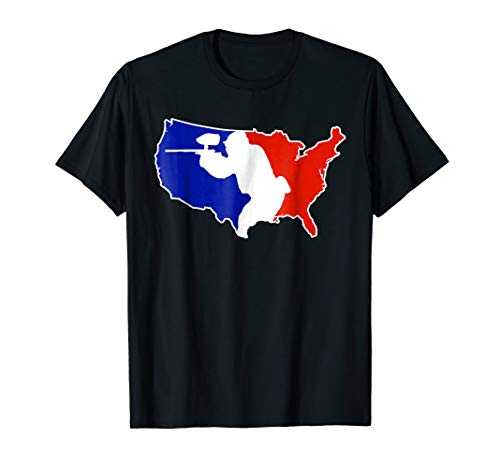 National Level Tournament Paintball Player Shirt