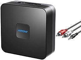 Mpow Bluetooth-Empfänger, Bluetooth-Audio-Adapter mit eingebautem Geräuschisolator, für Musik-Streaming-Soundsystem, kein...