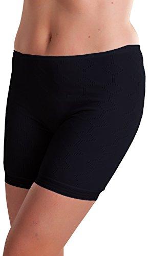 Octave - Damen Thermo-Unterhose - extra warm - Made in GB - schwarz - OS [Hüfte: 96,5-101,6 cm]