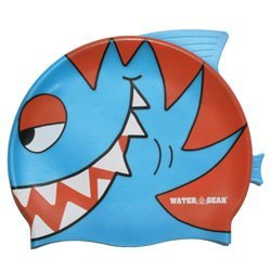 Water Gear Critter Cap, Blue Piranha