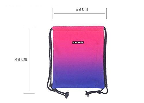 ALUK- Bundle de lazo del bolso de hombro hombres y las mujeres del baloncesto ocasional Maleta de Mano ( Color : # 2 ) #1