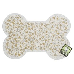 ORE Pet Recycled Rubber Pet Placemat Mini Bone - (Recycled Rubber Pet Placemat)