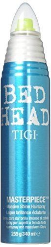Tigi Bed Head Masterpiece Massive Shine Hairspray - 9.5 Oz (2 PACK) (Spray Bed Hair Head)