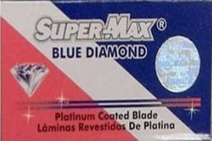 5 cuchillas de afeitar Super-Max Blue Diamond (1 paquete)
