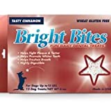 Bright Bites Daily Dental Tasty Cinnamon Flavor Small Dog Treats, My Pet Supplies