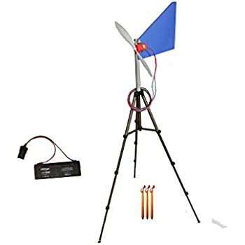 Travel Wind Turbine 12 volt Generator Kit with Battery Pacific Sky Power Adventure