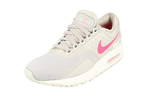 Nike Air Max Zero Essential GS Running Trainers 881229 Sneakers Shoes (4 M US, Wolf Grey Racer Pink 003) by Nike (Image #1)