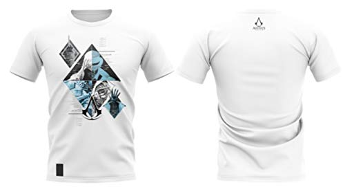 Camiseta assassin's creed - assassins fragments - banana geek xg