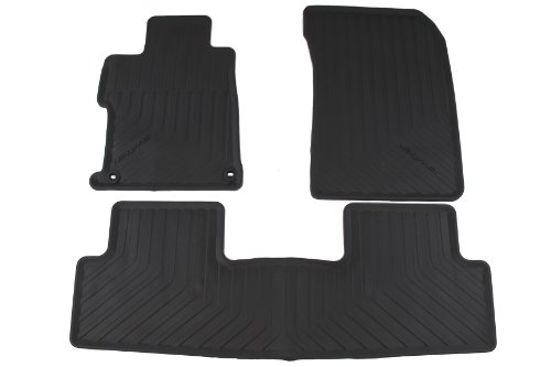 Genuine Honda Accessories 08P13-TR0-110A Black All Season Floor Mat for Select Civic Models (Nature Car Floor Mats compare prices)