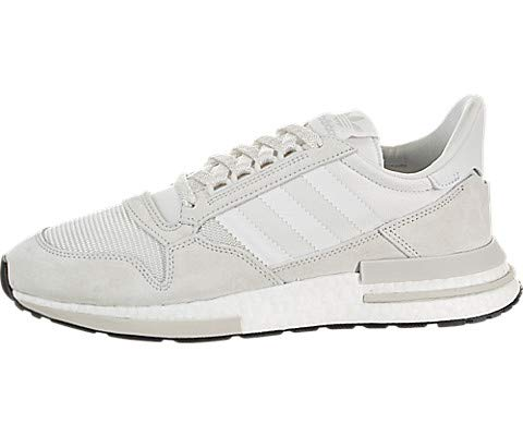 adidas ZX 500 RM Mens in Cloud White/White, 7.5 (Zx Adidas Shoes)