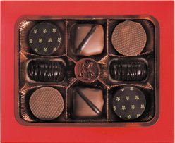 Maxim's de Paris French Gourmet Chocolates, 8 pieces 2.6oz