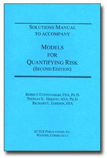 Models for Quantifying Risk Solutions Manual