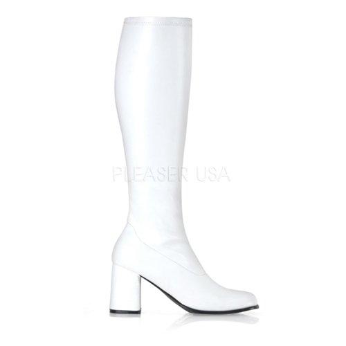 Funtasma Women's Gogo-300 Knee-High Boot,White,8 M US for $<!--$37.84-->