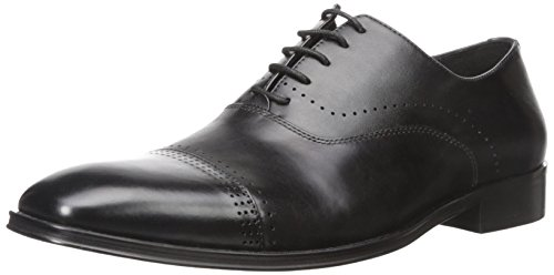 Steve Madden Mænds Duron Oxford Sort kJd5Z5
