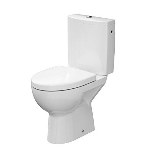 DOMINO KERAMIK STAND-WC-TOILETTE #81428 ABLAUF SENKRECHT ABSENKAUTOMATIK