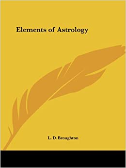 Book Elements of Astrology (1906)
