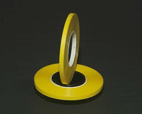 10 Pack 1/8'' Yellow Graphic Chart Tape Matte/Whiteboard/Dry Eraser board Tape by Graphic Chart Tape Matte 1/8'' Yellow (Image #1)