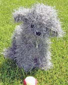 (Felted Fido Pattern by Evelyn ClarkFT225x Fiber)
