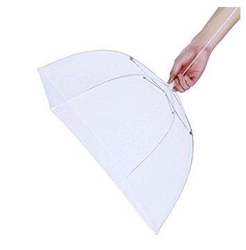 Fliegenhaube Speiseschirm Abdeckung für Speisen Insektenschutzhaube Faltbar Lsv-8