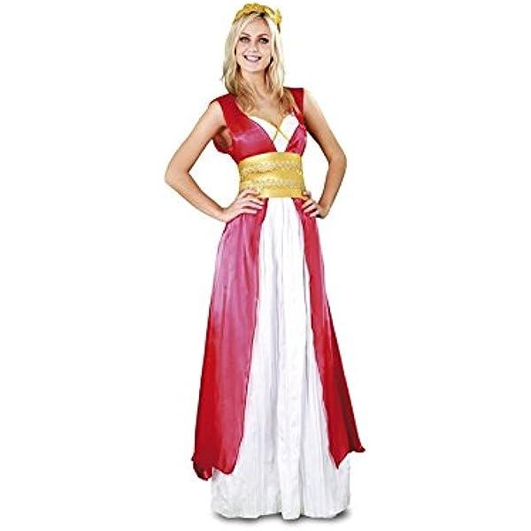 Disfraz de Romana Agripina para mujer talla M-L: Amazon.es ...