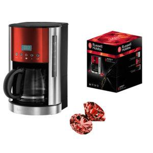 Russell hobbs 18626 56 cafeti res jewels 1050 w rubis - Verseuse cafetiere russell hobbs ...