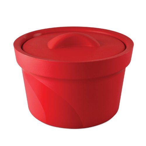 bel-art-m16807-2003-magic-touch-2-high-performance-red-ice-bucket-25-liter-with-lid