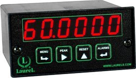 Laurel Electronics L81108FR Extended Counter, Ratemeter and Timer, Six Red LED Digits, Extended Capabilities, 10-48 Vdc Power, Two Isolated Analog Outputs, Ethernet-to-RS485 Converter