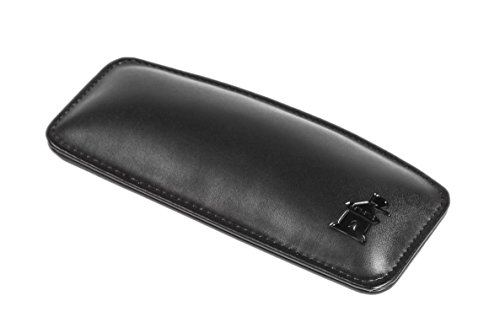 Motte Mouse Wrist Rest Pad Leather Ergonomic Computer Cushion - Durable Lightweight Wrist Support (Black) (In Store Apple Eugene)