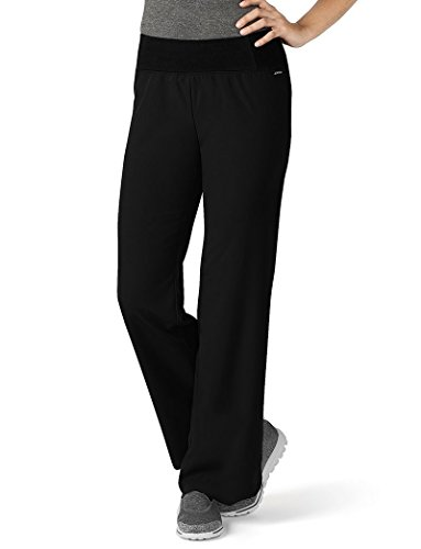 Collection Modern (Jockey® Scrubs Women's Modern Collection Perfected Yoga Scrub Pant, Black, XX-Large)