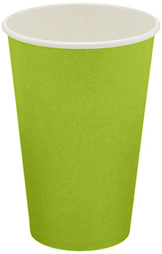 Jubilee 12-Ounce Paper Cups, 40 Count, Lime