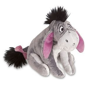Disney Eeyore Plush Mini Bean Bag Toy -- 7'' ()