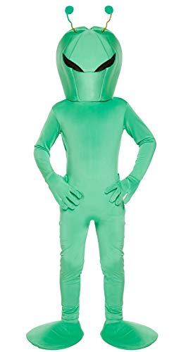 FNA FASHIONS Children Alien Martian Space Cute Boy Dress Up Boy Girl Full Costume Lightweight ()