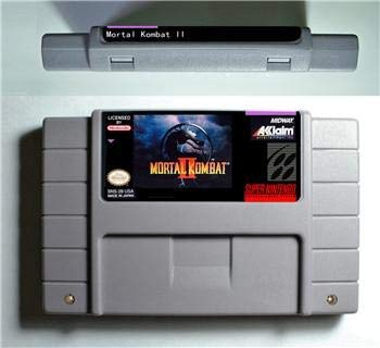 (Mortal Kombat II 2 - Action Game Cartridge US Version - Sega Genesis Collection ,classics ,Games For NES for Genesis)