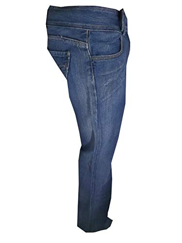 Donna Elefante 552 W30l34 Bootcut Blu Heart Charlie Anne Jeans Pocket Zampa Levis Levi's qtwFvv