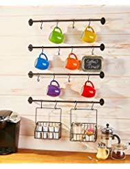 The Lakeside Collection 6-Pc. Coffee Mug Wall Rack