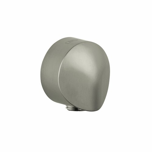 (Hansgrohe 27454822 Wall Outlet, Brushed Nickel)