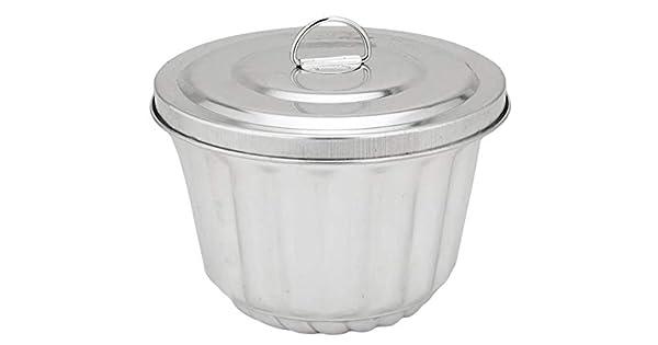 Amazon.com: PATISSE Pudín molde de vapor, 1/2-litre: Kitchen ...
