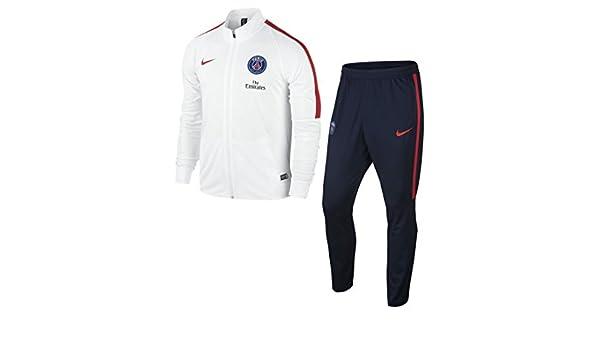 Nike PSG M NK Dry TRK Suit SQD K Chándal Paris Saint Germain ...