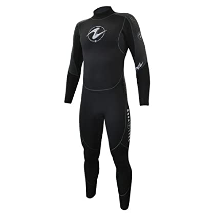 Image of Aqualung 7mm Mens Black/Charcoal XS Wetsuits