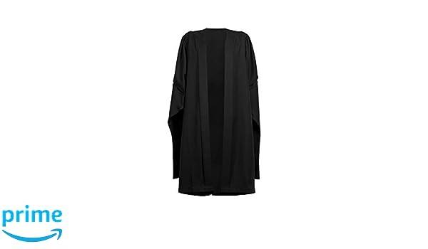 Ashington Gowns Vestido de graduación de Masters Negro ...