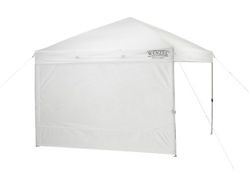 Sunkorto 10×10 Ft Pop up Canopy Tent with 4 Weight Sand Bags, UV Protection Instant Shelter with Wheeled Carry Bag for Party, Celebrations, Outdoor Sports or Commercial Activities, White