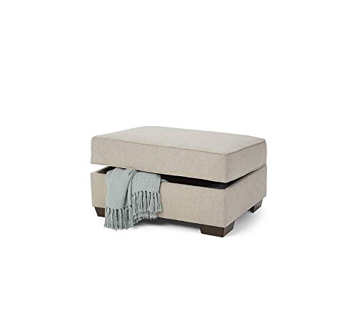 Wood & Style Furniture Old Forge Linen Storage Ottoman Home Office Commerial Heavy Duty Strong Décor (Forge Old Furniture)