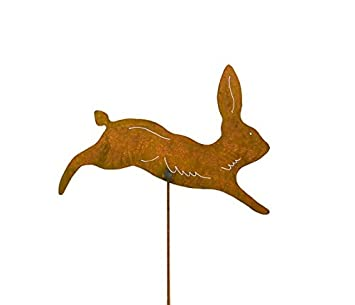 Amazoncom Running Rabbit Decorative Garden Stake made in USA