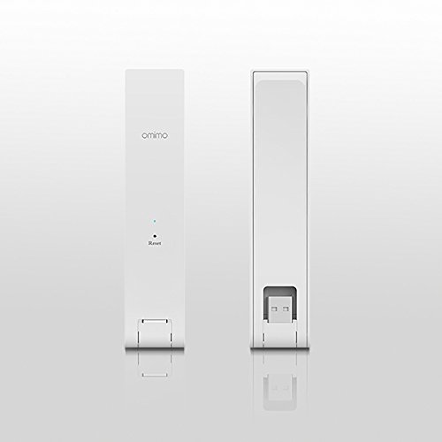 Omimo WiFi Extender RP-R1 300M WiFi Repeater Router Extender Wireless Access Point (Power Supply by USB Interface) White by Omimo (Image #5)