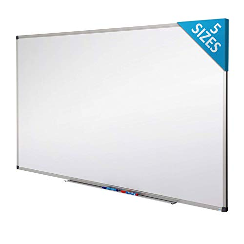 Master of Boards White Board | Magnet Dry Erase Board | Magnetic Message and Memo Planner for Commercial or Private Use | 5 Sizes | 12