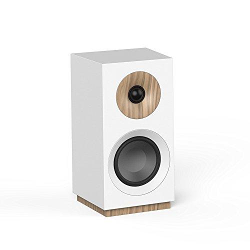 Jamo S 801 PM, paar actieve luidsprekers wit
